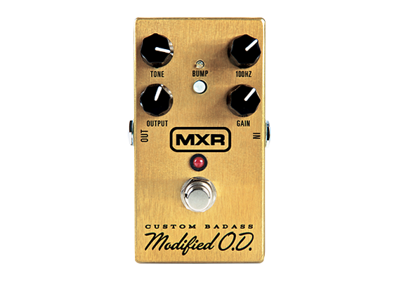 MXR M77 Custom Badass Modified O.D. Overdrive