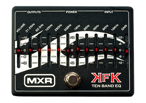 MXR KFK1 Kerry King 10-Band EQ