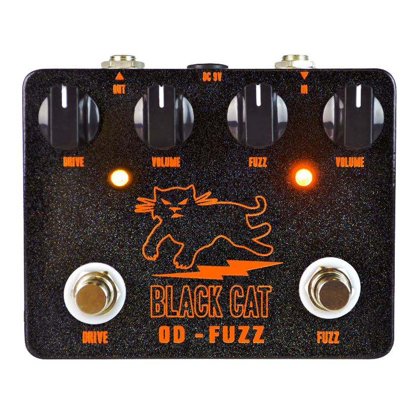 Black Cat Pedals OD-Fuzz Germanium