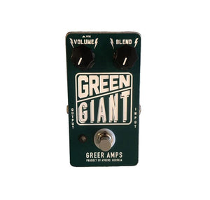 Greer Amplification Green Giant