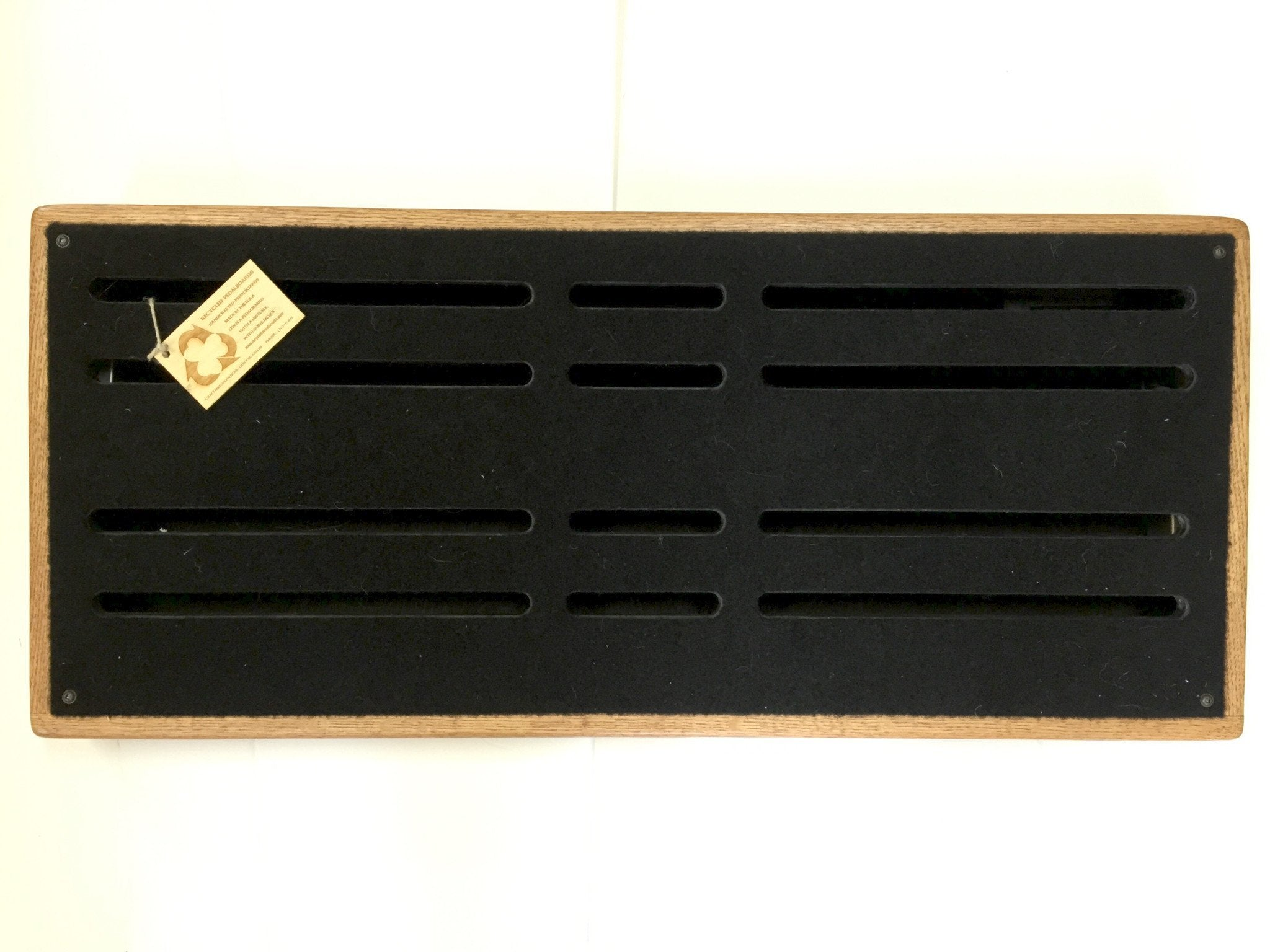 "Recycled Pedalboards 28""x14"""