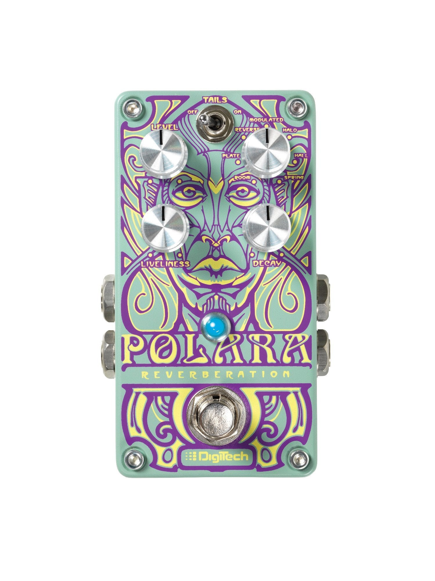 DigiTech Polara Lexicon Reverb Effects Pedal