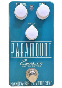 Emerson Guitars Paramount Overdrive Turquoise
