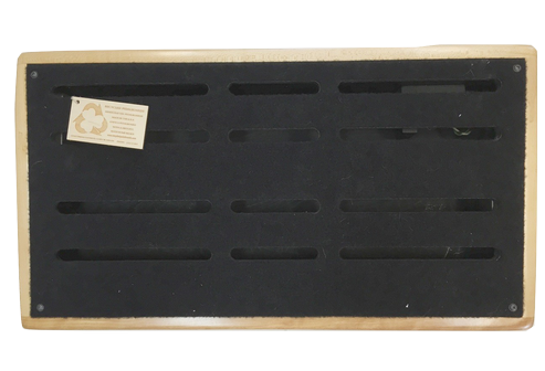 "Recycled Pedalboards 24""x13 Custom pedalboard"