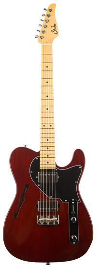 Suhr Guitars Alt T Pro Trans Brown