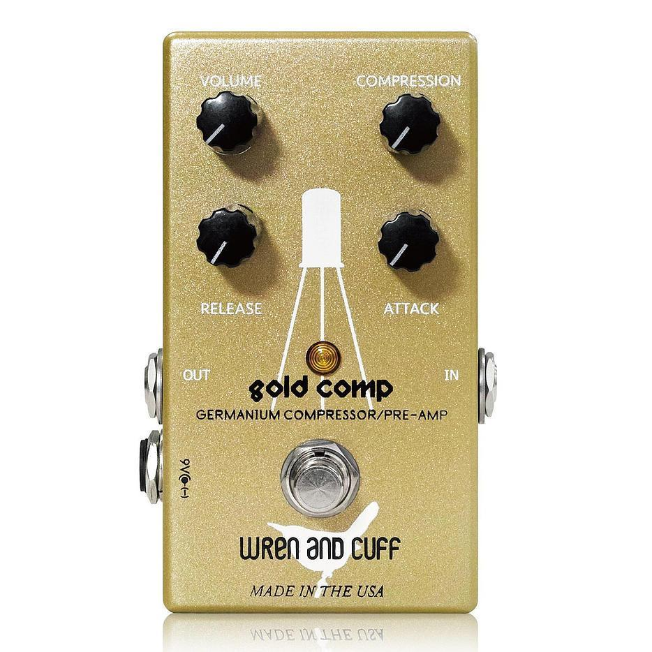 Wren and Cuff Gold Comp Germanium Compressor