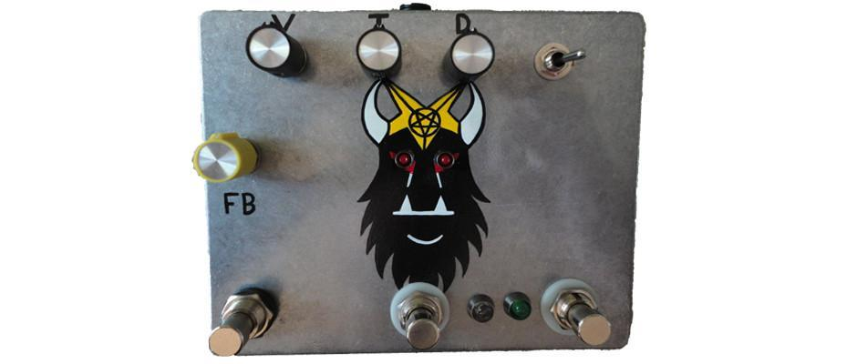 Fuzzrocious Demon King Pedal - Latching Feedback