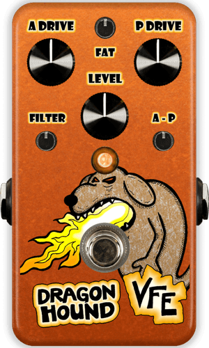 VFE Pedals Dragon Hound - Overdrive + Distortion