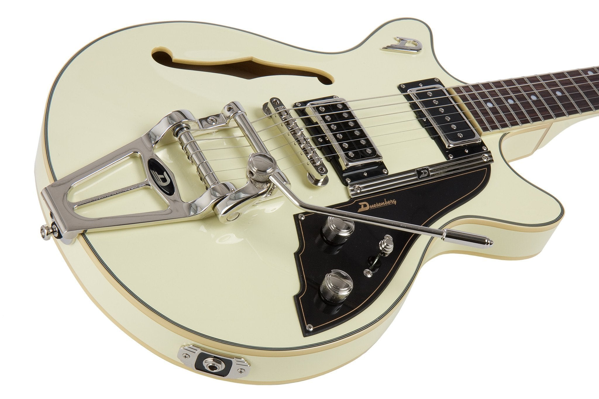 Duesenberg Fullerton TV Vintage White All Over