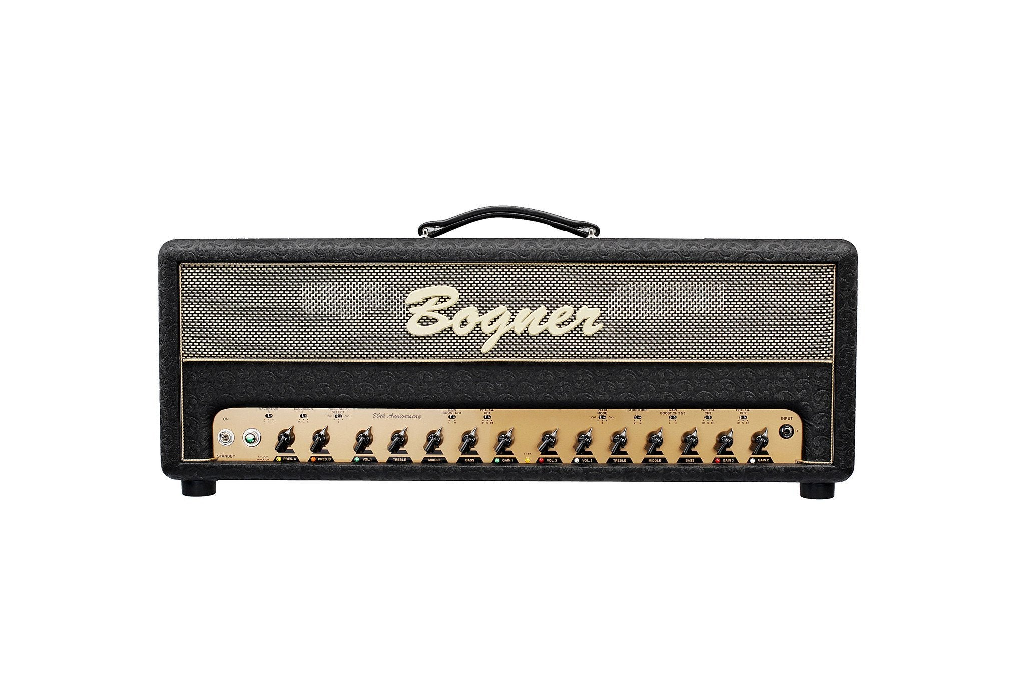 Bogner Amplification 20th Annivesary Ecstasy Head 100 Watts with 6V6 Tubes