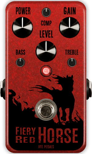 VFE PEDALS Fiery Red Horse - Saturated Fuzz