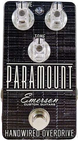 Emerson Guitars Paramount Overdrive (Smoke)