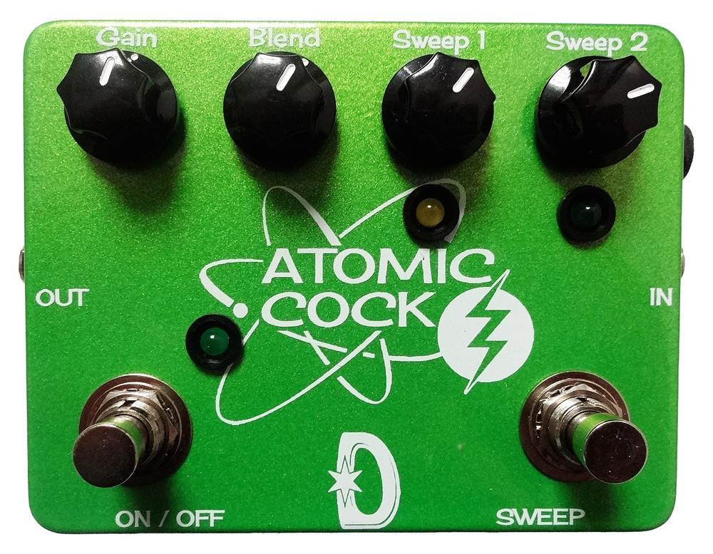 Daredevil Pedals Double Atomic Cock