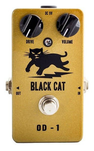 Black Cat Pedals OD-1 Freddie Fuzz - Gold