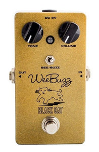 Black Cat Pedals Wee Buzz Fuzz - Gold