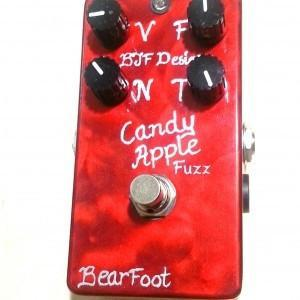 BearFoot FX Candy Apple Fuzz SILVER