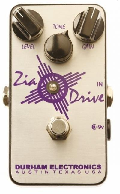 Durham Electronics Zia Drive Overdrive Pedal