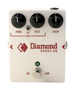 Diamond Boost EQ Pedal