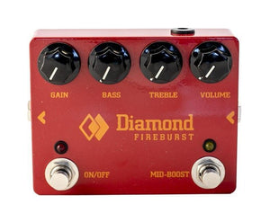 Diamond Pedals Fireburst Fuzz / Distortion Pedal