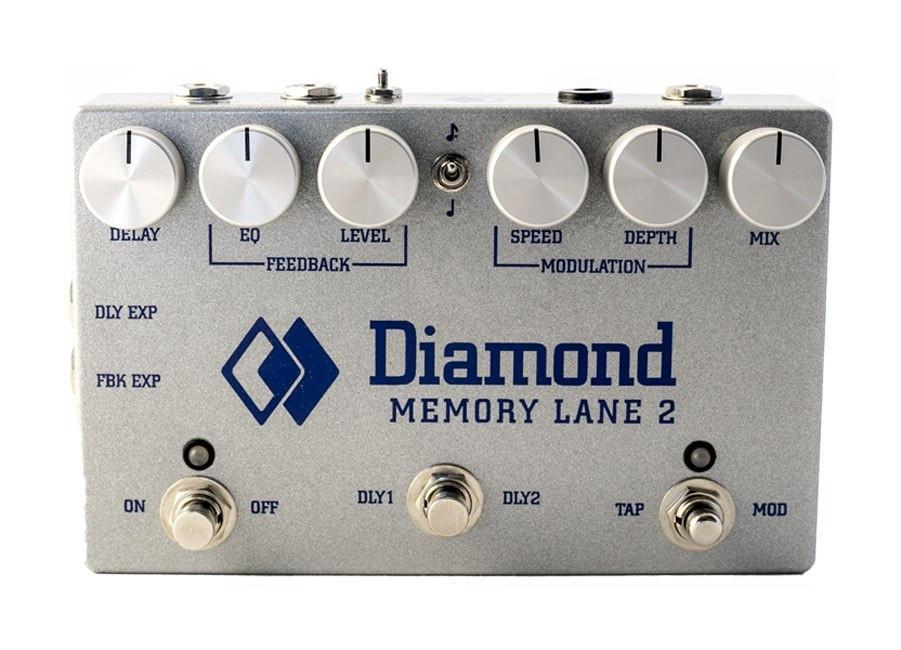 Diamond Memory Lane 2 Delay/Echo Pedal