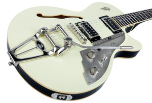 Duesenberg Starplayer TV Vintage White Plus, Piezo Pickup
