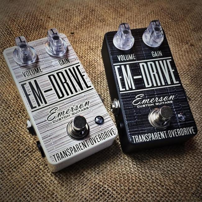 Emerson Guitars EM Drive Overdrive Smoke/Black
