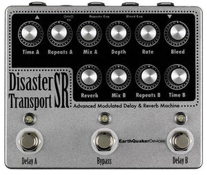 Earthquaker Devices Disaster Transport SR Modulated Delay