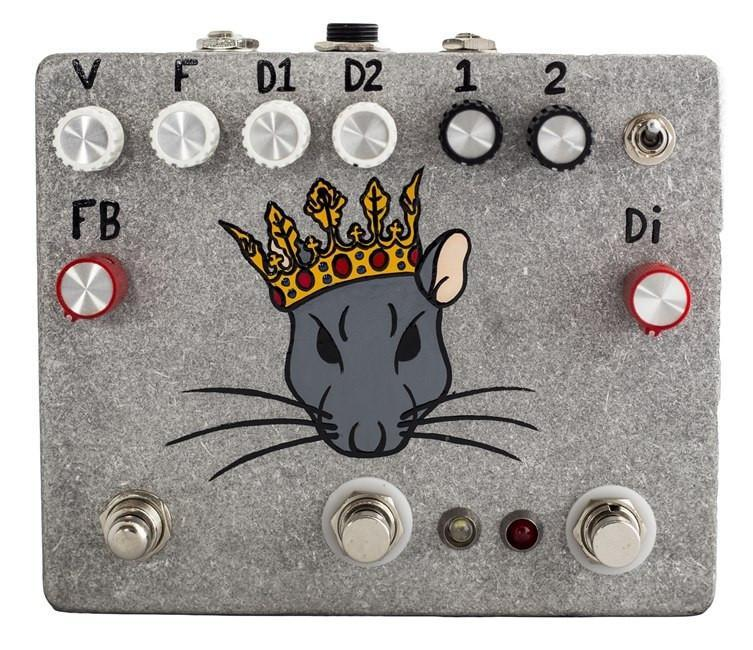 Fuzzrocious Rat King Pedal - Hand Painted