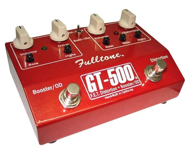 Fulltone GT-500 Distortion / Overdrive Pedal