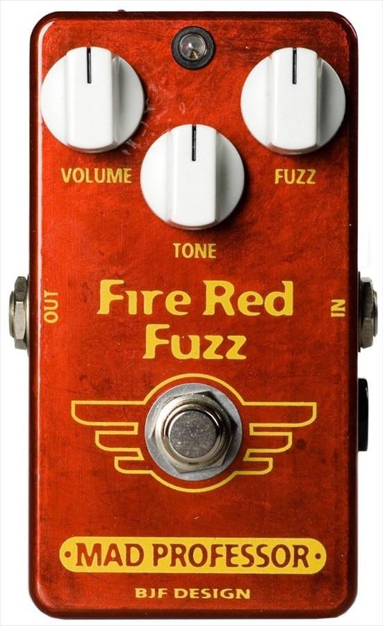 Mad Professor Fire Red Fuzz Hand Wired BJF