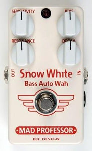 Mad Professor Snow White Bass Auto Wah BJF Hand Wired