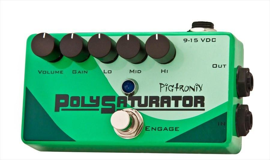 Pigtronix PolySaturator Distortion Pedal