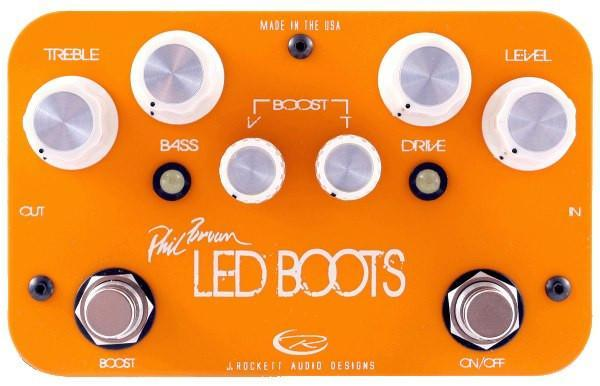 Rockett Pedals Phil Brown LED BOOTS Boost/OD