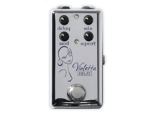 Red Witch Violetta Delay Pedal