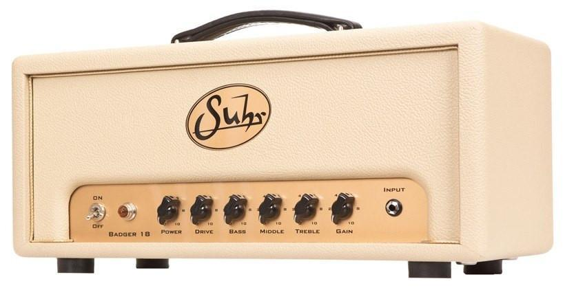 Suhr Badger 18 Cream Guitar Amp Head
