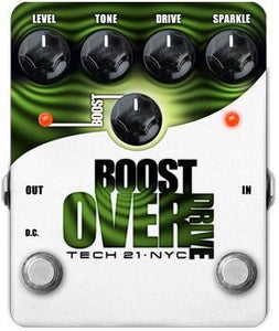 Tech 21 Effects Boost Overdrive