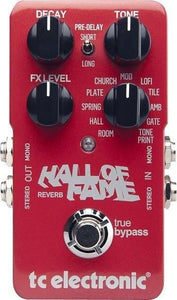 TC Electronic Hall Of Fame Reverb TonePrint Series