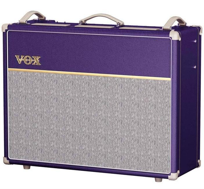 Vox AC30C2 2x12 Combo Purple Tygon