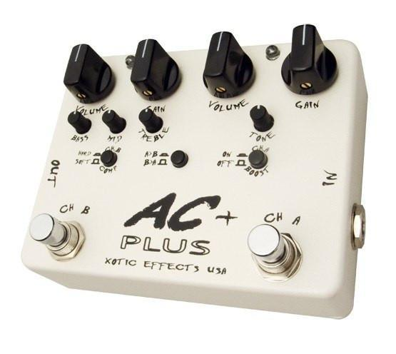 Xotic AC Plus + Booster Overdrive Pedal