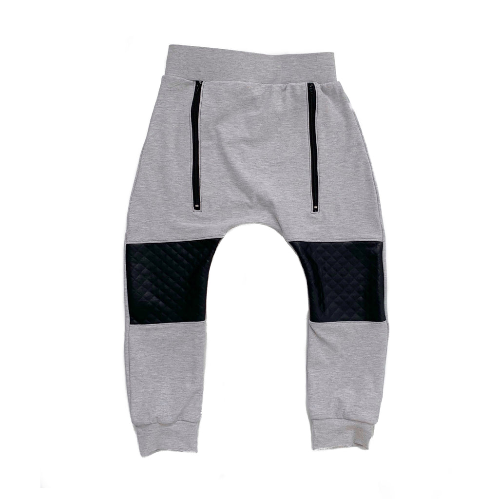 Grey Slouch Pants
