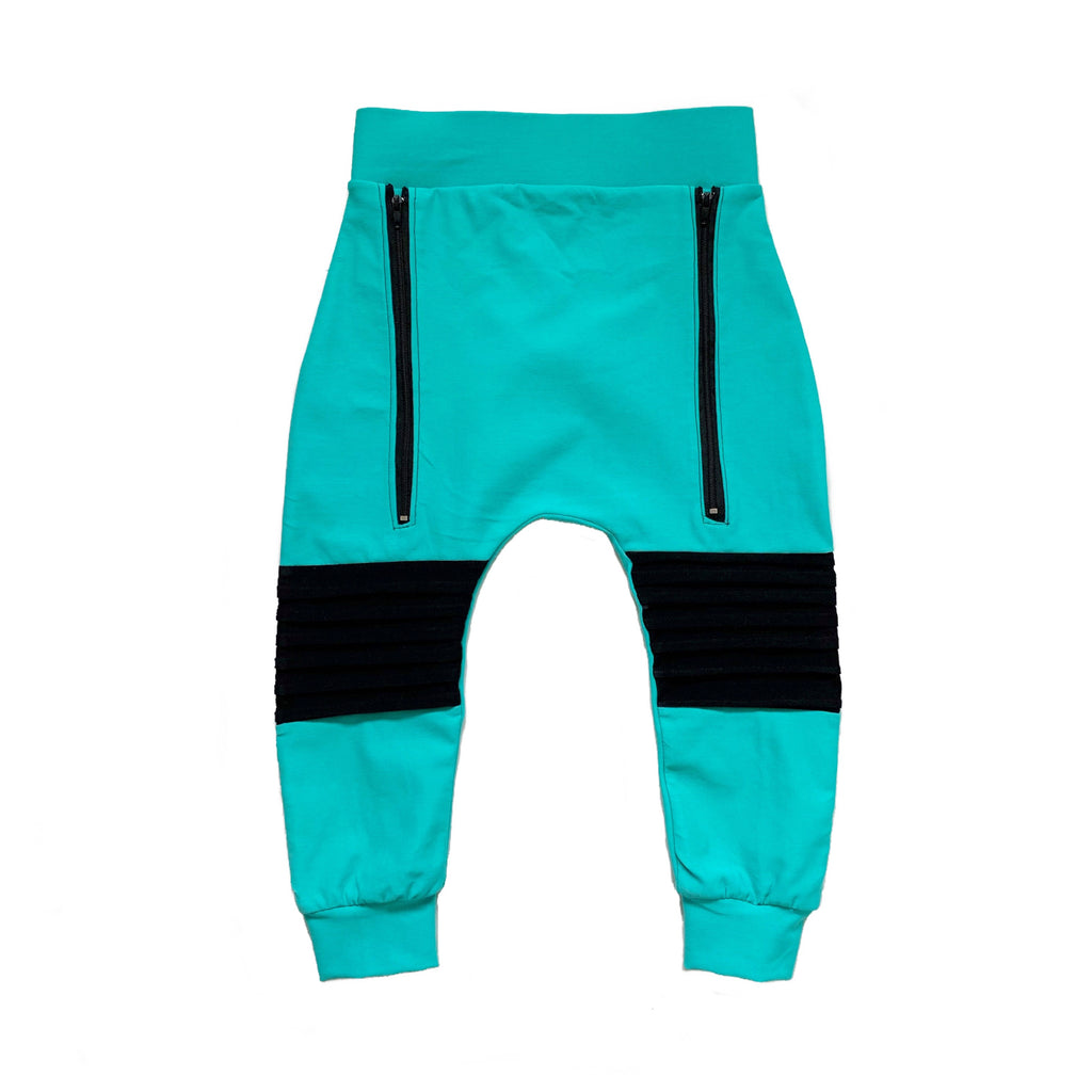 Mint Slouch Pants