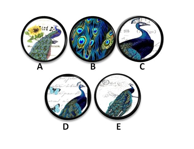 Exotic Bird Bathroom Cabinet Knobs Storage Handles