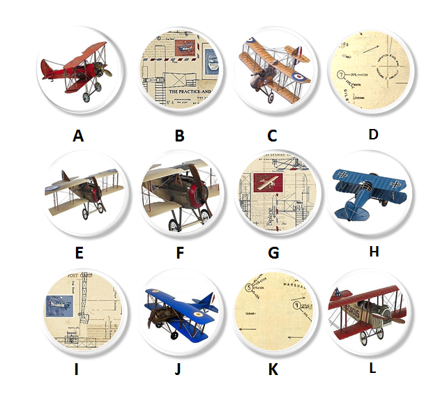 Boys Airplane Room Decor - Cabinet Pulls