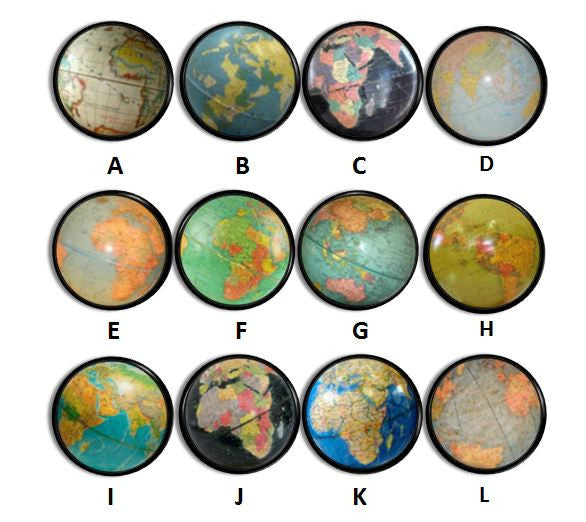 Old World Antique Globe Knobs | Pulls - No. 816A1