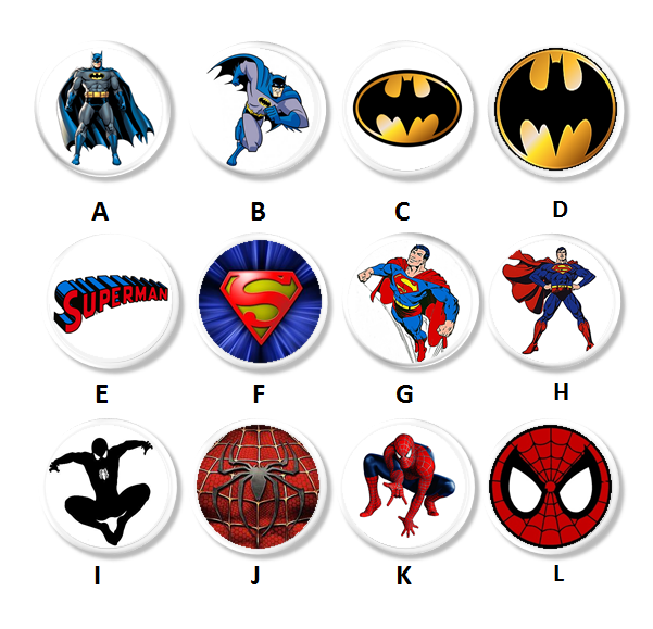 Superhero Childrens Room Decor