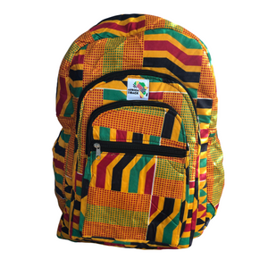 Red, Black & Green Full Size Backpack