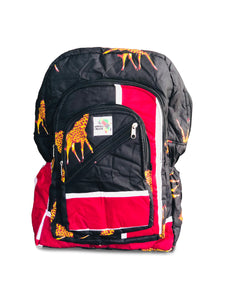 Giraffes Full Size Backpack