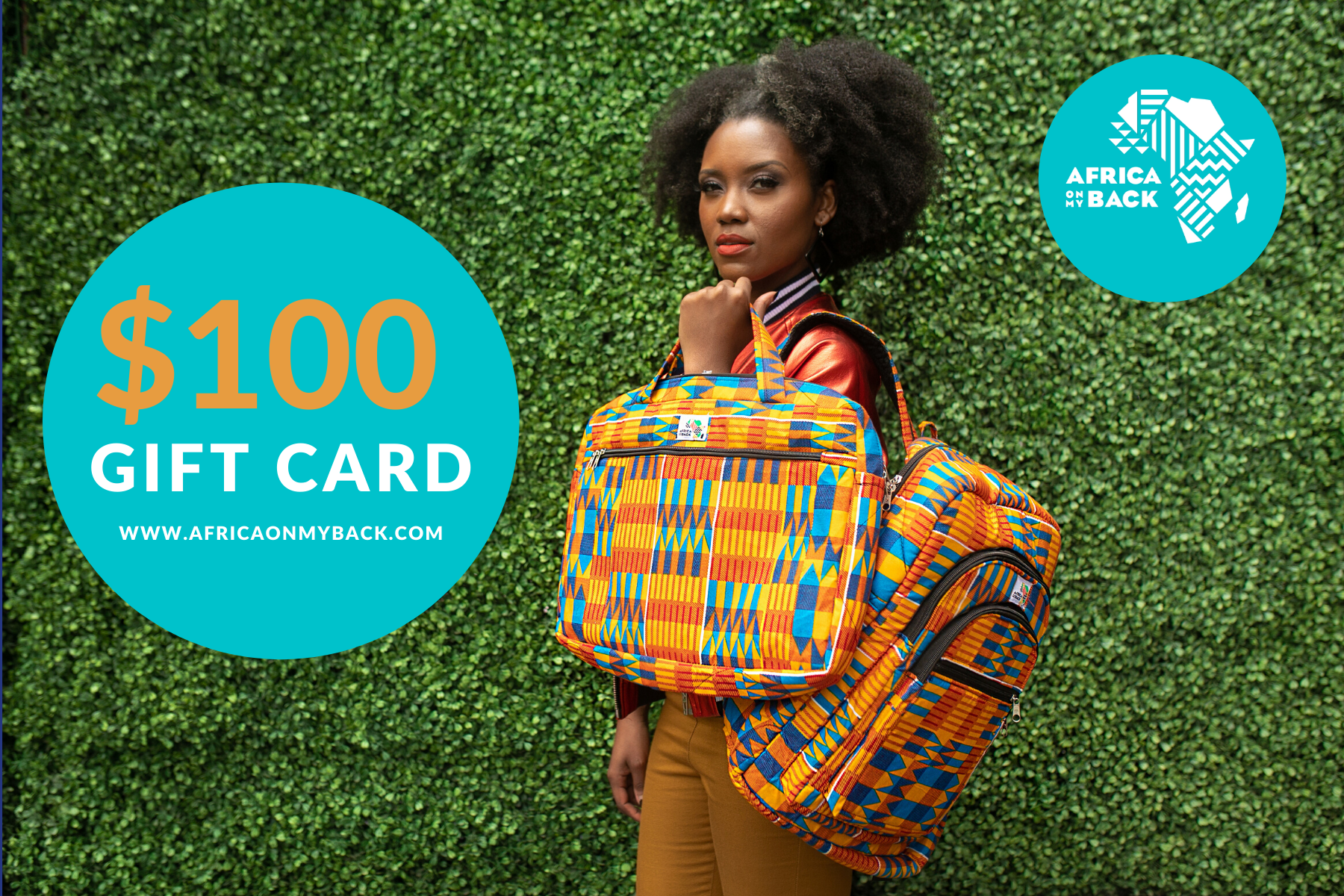 Africa On My Back Gift Cards
