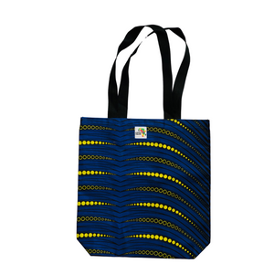 Peacock Tote Bag - Mid Size