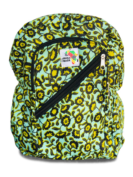Aqua Green Mini Backpack